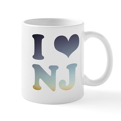 i love new jersey Mug