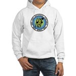 HFPACK Hooded Sweatshirt, Front&Back grey or white