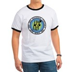 HFPACK T-shirt, white with Blue or Black trim