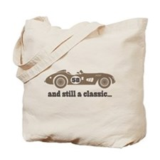 58th Birthday Classic Car Tote Bag