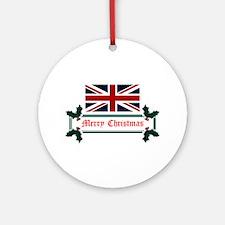 British Christmas Ornament