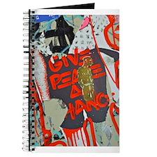 New York Graffiti: Give Peace a Chance Journal