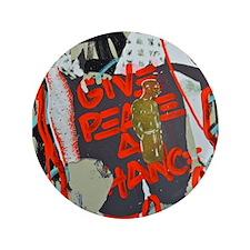 "New York Graffiti: Give Peace a Chance 3.5"" Button"