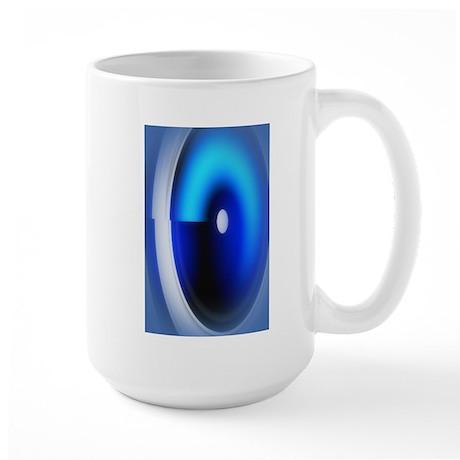 Blue Lens Cat Forsley Designs Mug