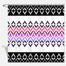 Mix #312, Aztec Shower Curtain