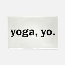 Yoga, Yo Rectangle Magnet