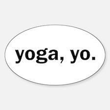 Yoga, Yo Decal