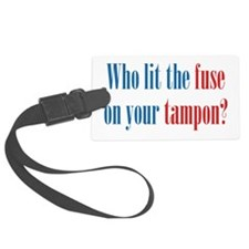 Tampon Fuse Luggage Tag