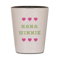 Nana Winnie Shot Glass