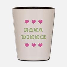 Nana Winnie Shot Glass