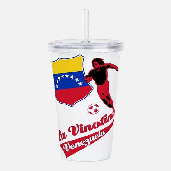 soccer player designs Acrylic Double-wall Tumbler