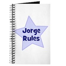 Jorge Rules Journal