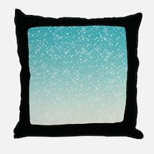 Sparkling Aqua Sea Throw Pillow