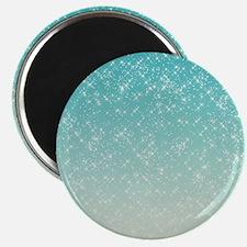 Sparkling Aqua Sea Magnet