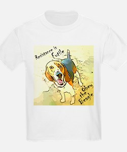 Cute Obey the beagle T-Shirt