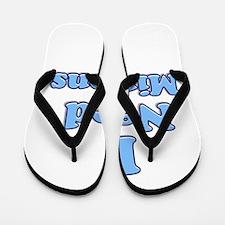I need Minions retro blue 1 Flip Flops