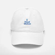 I need Minions retro blue 1 Baseball Cap