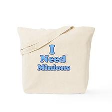 I need Minions retro blue 1 Tote Bag