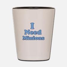I need Minions retro blue 1 Shot Glass