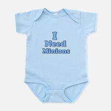 I need Minions retro blue 1 Body Suit