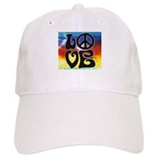 Peace & Love Baseball Cap