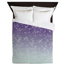 Sparkling Purple Queen Duvet