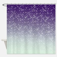 Sparkling Purple Shower Curtain