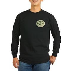 Men's logo1 Dark Long Sleeve T-Shirt - black, navy