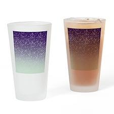 Sparkling Purple Drinking Glass