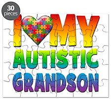 I Love My Autistic Grandson Puzzle