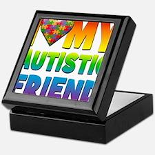 I Love My Autistic Friend Keepsake Box