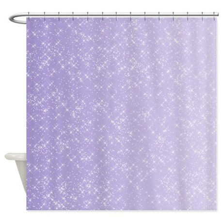 Sparkling Lilac Shower Curtain By Be Inspired By Life