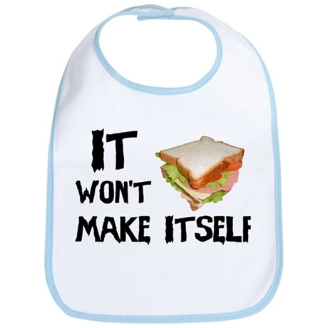 Make me a Sandwich Bib