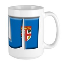 Word Art Flag of Fiji Mug