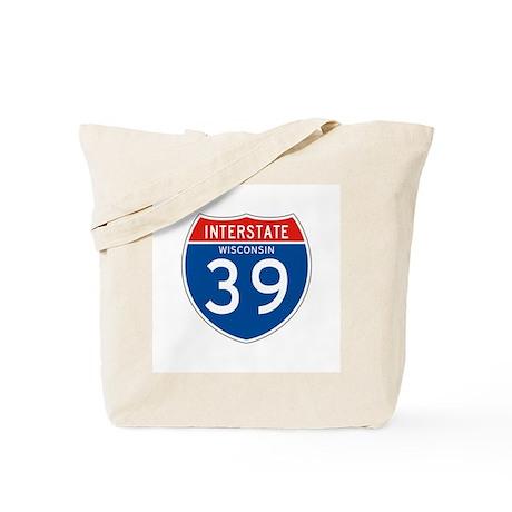 Interstate 39 - WI Tote Bag