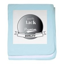 100% Jack baby blanket