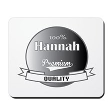 100% Hannah Mousepad