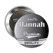 "100% Hannah 2.25"" Button"