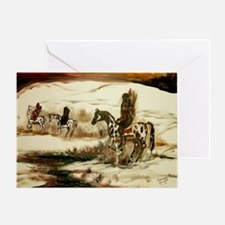 Indian Trail Greeting Card
