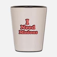 I need Minions retro red Shot Glass