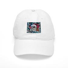 Sugar Skull and Roses Baseball Baseball Cap
