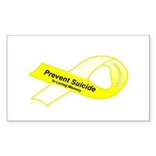 Prevent in Memory Oval Decal