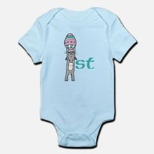 Babys First Easter- Boy Body Suit