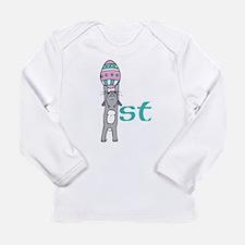 Babys First Easter- Boy Long Sleeve T-Shirt