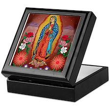 Virgin of Guadalupe Keepsake Box