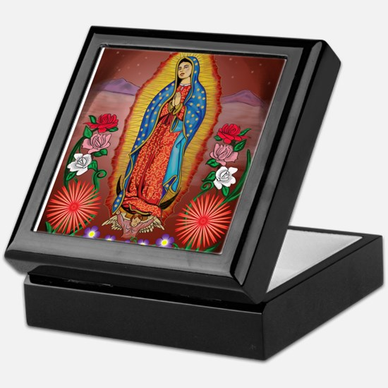 Virgin of Guadalupe Keepsake Box