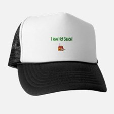 I love Hot Sauce Trucker Hat