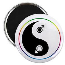 Male Yin Yang Magnet