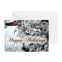 12 05 holiday Calendar Greeting Card