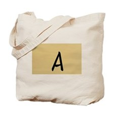A, Your name in Japanese Katakana system Tote Bag